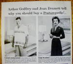 Click to view larger image of 1959 Sealy Mattress with Arthur Godfrey & Joan Bennett (Image2)