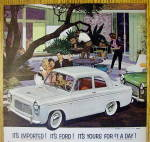 Click to view larger image of 1959 English Ford Line with Anglia 2 Door Sedan (Image2)