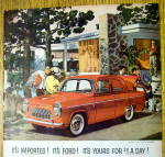Click to view larger image of 1959 English Ford Line with Four-Door Sedan Prefect (Image2)