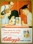 1959 Kellogg's Corn Flakes with a Graduation Boy