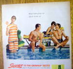 Click to view larger image of 1962 Squirt with Two Men & Woman Talking About a Man (Image2)