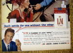 Click to view larger image of 1959 L & M Cigarettes with James Arness & Amanda Blake (Image3)