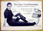1959 Dickies Continentals with Pat Boone