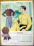 1952 Pacific Sportswear with Two Men & Two Dogs