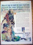 Click to view larger image of 1930 Maxwell House Coffee with Man & Woman (Image1)