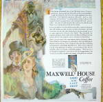 Click to view larger image of 1930 Maxwell House Coffee with Man & Woman (Image2)