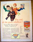 1931 Campbell Vegetable Soup with Children
