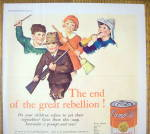 Click to view larger image of 1931 Campbell Vegetable Soup with Children (Image2)