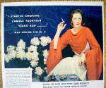 Click to view larger image of 1934 Camel Cigarettes with Adrian Iselin II Smoking (Image2)