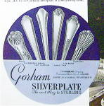 Click to view larger image of 1935 Gorham Silverplate with Woman Holding Man's Hand (Image2)