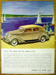 Click to view larger image of 1936 Ford with The Mark Of A Modern Car V-8 (Image1)