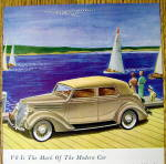 Click to view larger image of 1936 Ford with The Mark Of A Modern Car V-8 (Image2)