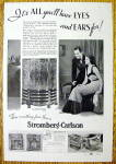 Click to view larger image of 1937 Stromberg Carlson with Man & Woman (Image1)