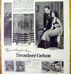 Click to view larger image of 1937 Stromberg Carlson with Man & Woman (Image2)