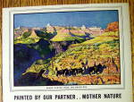 Click to view larger image of 1938 Budweiser Beer with Grand Canyon From South Rim (Image2)