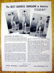 Click to view larger image of 1948 York Barbell Co. with Jules Bacon (Mr. America) (Image1)