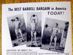 Click to view larger image of 1948 York Barbell Co. with Jules Bacon (Mr. America) (Image2)