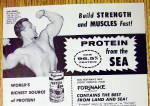 Click to view larger image of 1962 Hoffman Protein From The Sea with John Grimek (Image2)