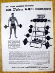 1962 York Deluxe Barbell Combinations w/ Ray Routledge
