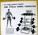Click to view larger image of 1962 York Deluxe Barbell Combinations w/ Ray Routledge (Image2)