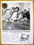 1963 Aurora Model Motoring with People & Racing Set