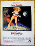 1968 Barbarella with Jane Fonda