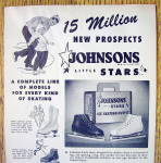 Click to view larger image of 1953 Johnson's Little Stars with Ice Skates (Image2)