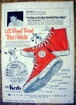 Click to view larger image of 1953 U.S. Royal Tread Pro Keds with George Mikan (Image1)