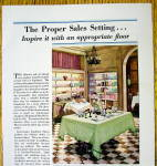Click to view larger image of 1930 Armstrong Linoleum Floor with Checkered Floor (Image2)