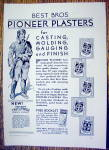 Click to view larger image of 1930 Pioneer Plaster with a Pioneer Man (Image2)