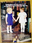 Click to view larger image of 1972 Carter Dress Up Knits w/ 2 Children Holding Hands (Image1)
