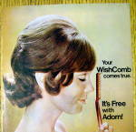 Click to view larger image of 1972 Adorn Hair Spray with Side View Of Woman (Image2)
