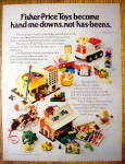 1972 Fisher Price Toys with Play Family School & More