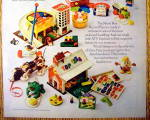 Click to view larger image of 1972 Fisher Price Toys with Play Family School & More (Image3)