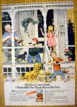 Click to view larger image of 1973 Thank You Chocolate Pudding with Family on Porch (Image1)