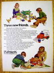 Click to view larger image of 1974 Playskool Toys with Holiday Inn & McDonald's (Image1)