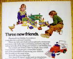 Click to view larger image of 1974 Playskool Toys with Holiday Inn & McDonald's (Image2)