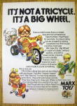 1974 Marx Toys w/ Big Wheel, Happy Hopper & Silly Sammy