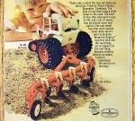 Click to view larger image of 1974 Ertl Toys with Boy Playing with Tractor & More (Image3)