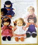 Click to view larger image of 1974 Fisher Price Dolls with 6 Dolls (Image2)