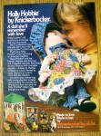 1976 Knickerbocker Holly Hobbie Doll with Little Girl
