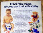 Click to view larger image of 1977 Fisher Price Toys with Baby Playing The Xylo Drum (Image2)