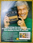 1978 Kodak Colorburst 300 Camera with Dick Van Dyke