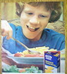 Click to view larger image of 1978 Kraft Macaroni & Cheese with Boy Eating (Image2)