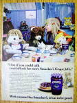 1978 Smucker's Grape Jelly with Girl's Tea Party