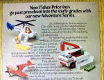 Click to view larger image of 1975 Fisher Price Toys with Adventure Series Toys (Image2)