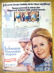 Click to view larger image of 1977 Johnson's Diapers with Juliet Mills (The Nanny) (Image1)