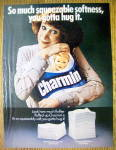 Click to view larger image of 1980 Charmin Toilet Tissue with Woman Smiling (Image1)