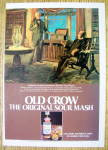 Click here to enlarge image and see more about item 16771: 1980 Old Crow Whiskey with Andrew Jackson