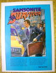 1982 Samsonite Briefcase with The Samsonite  Survivor